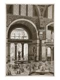 Baths of Caracalla (Restored) (Litho)