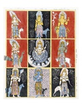 Buddhists Representing the Stars  Sun and Moon  from &#39;The History and Doctrine of Buddhism&#39;
