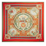 Shawl Commemorating 25 Years of the Reign of Alexander Ii (1818-81) Emperor of Russia (Textile)