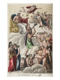 Council of the Gods  Book I  Illustration from Ovid's Metamorphoses  Florence  1832