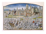 T2 Fol287 Victory of the Inhabitants of Ghent Led by Philipp Van Artevelde before Bruges in 1381