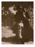The Dance  Print by Olga Von Koncz  1914 (Photogravure)