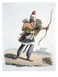 Janissary of Arabia  from 'The Military Costume of Turkey'  1830