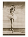 Rosella Hightower in Swan Lake  from 'Grand Ballet De Monte-Carlo'  1949 (Photogravure)