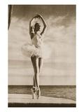 Rosella Hightower in Swan Lake  from 'Grand Ballet De Monte-Carlo'  1949 (Photogravure)