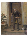 The Beggar  1881 (Oil on Canvas)