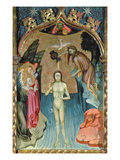 Altarpiece Depicting the Baptism of Jesus by St John the Baptist from the Church of Cabrera