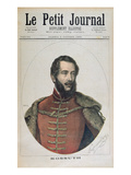 Portrait of Lajos Kossuth (1802-94) from the Front Cover of 'Le Petit Journal'  8th October  1892