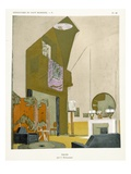 Salon  from &#39;Repertoire of Modern Taste&#39;  Published 1929 (Colour Litho)