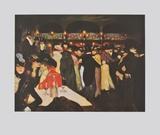 Le Moulin de la Galette Reproduction pour collectionneurs par Pablo Picasso