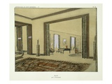 Salon  from 'Repertoire of Modern Taste'  Published 1929 (Colour Litho)