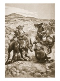 On the Heels of De Wet: Mounted Infantry Attacking a Waggon Train