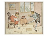 An Illustration from 'A Frog He Would A-Wooing Go'  Pub by Frederick Warne and Co