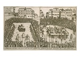 The Trial and Execution of Count Von Hardeck in 1595