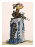 Back View of Ladies Gown  Engraved by Dupin  Plate No247