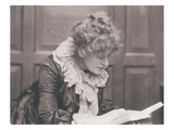 Portrait Photograph of Ellen Terry (1847-1928) Reading  by Frederick Hollyer (1837-1933)