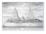 The Two Pyramids of Moeris  King of Egypt and His Wife  Plate 11