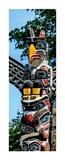 Totem Poles  Stanley Park  Vancouver  British Columbia