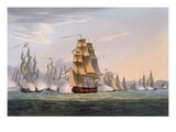 Capture of Le Sparviere  May 3rd 1810  from 'The Naval Achievements of Great Britain'