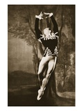 Andre Eglevsky in Swan Lake  from 'Grand Ballet De Monte-Carlo'  1949 (Photogravure)