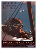 Air Race  England to Australia c1934