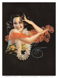 Hawaiian Pin Up Girl c1946