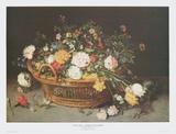 Still Life - Floral Basket