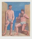 Pipes of Pan Reproduction pour collectionneurs par Pablo Picasso