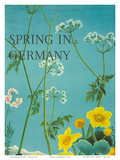 Spring in Germany c1950s