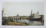 Dresden  from the right Bank of the Elbe