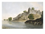 Pl 33 a View of the Fort of Ilionpoor Upon the Banks of the River Goomty