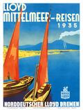 Lloyd Mittelmeer-Reisen c1935