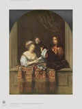 Singing Lady and Lute Player