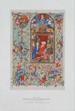 Birth of Christ - Prayer Book about 1450