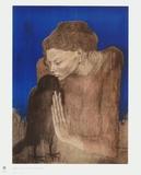 The Woman with the Raven Reproduction pour collectionneurs par Pablo Picasso
