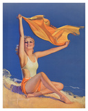 Sunshine Pin Up Girl c1940s
