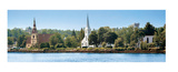 Three Churches  Mahone Bay  Nova Scotia