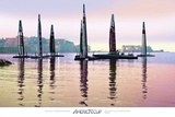 America&#39;s Cup: Naples Dusk