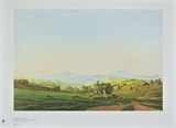 Bohemian Landscape with the Mount Milleschauer