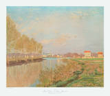 The Seine at Argenteuil with Poplars
