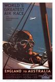 Air Race  England to Australia c1934