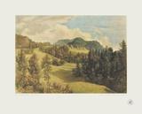 Landscape near Miesenbach