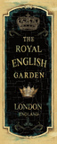 Garden View IX (Royal English)