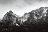 Sun and Snow (Bridalveil Fall)