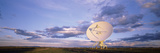 Clouds over a Radio Telescope  Very Large Array  National Radio Astronomy Observatory  Socorro  