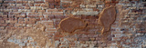 Close-Up of a Brick Wall  Venice  Veneto  Italy