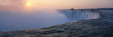 Sunrise Horseshoe Falls Niagara Falls NY USA