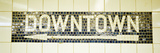 USA  New York City  Subway Sign