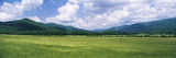 Clouds over Mountains  Cades Cove  Great Smoky Mountains  Great Smoky Mountains National Park  T