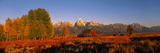 Sunrise Grand Teton National Park WY USA